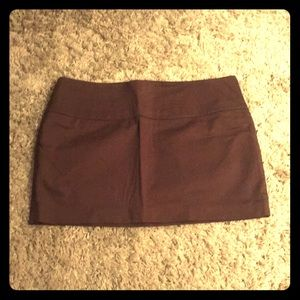 NEW Express brown mini skirt